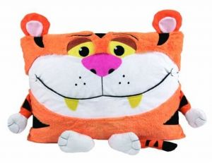 Snuggle Pets Shamzees Pillow Eating Friends - Bally Tiger
